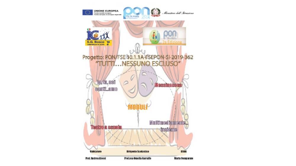 Progetto PON/FSE10.1.1A - FSEPON-SI-2019-362
