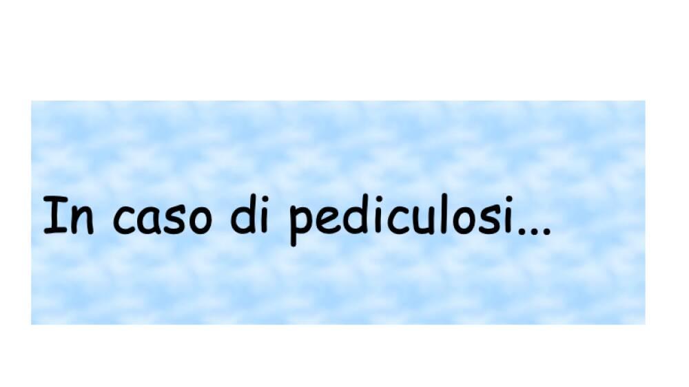 pediculosi