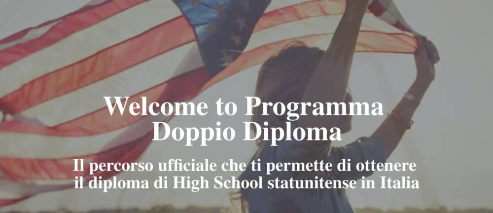 WELCOME TO PROGRAMMA DOPPIO DIPLOMA!