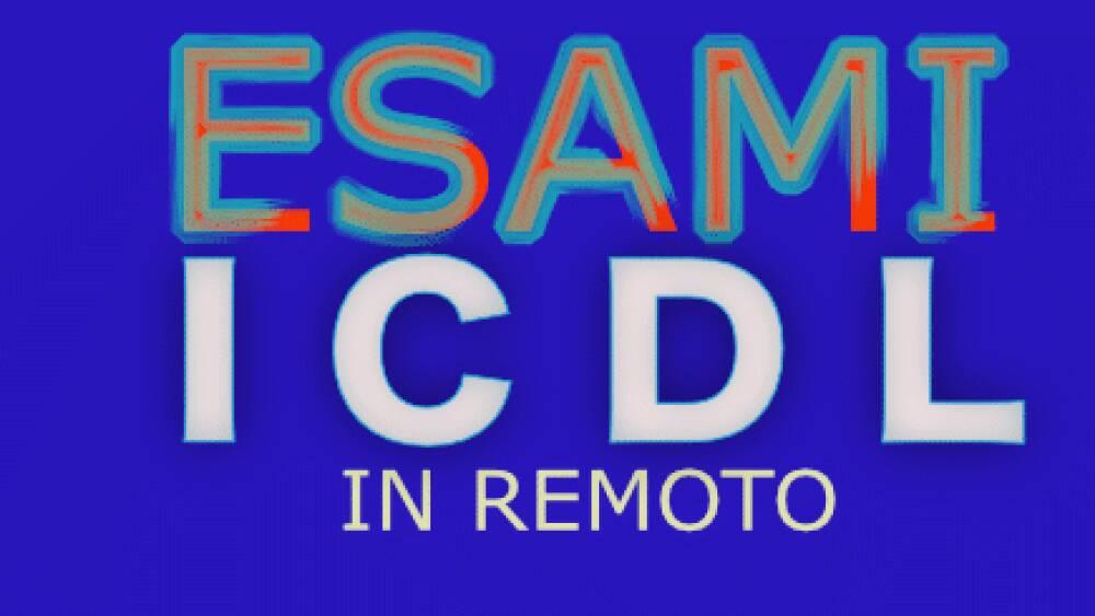 esami ICDL in remoto