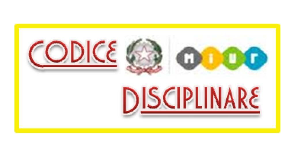 Codice disciplinare MIUR
