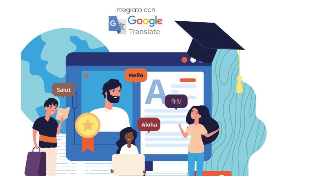 sito multilingue