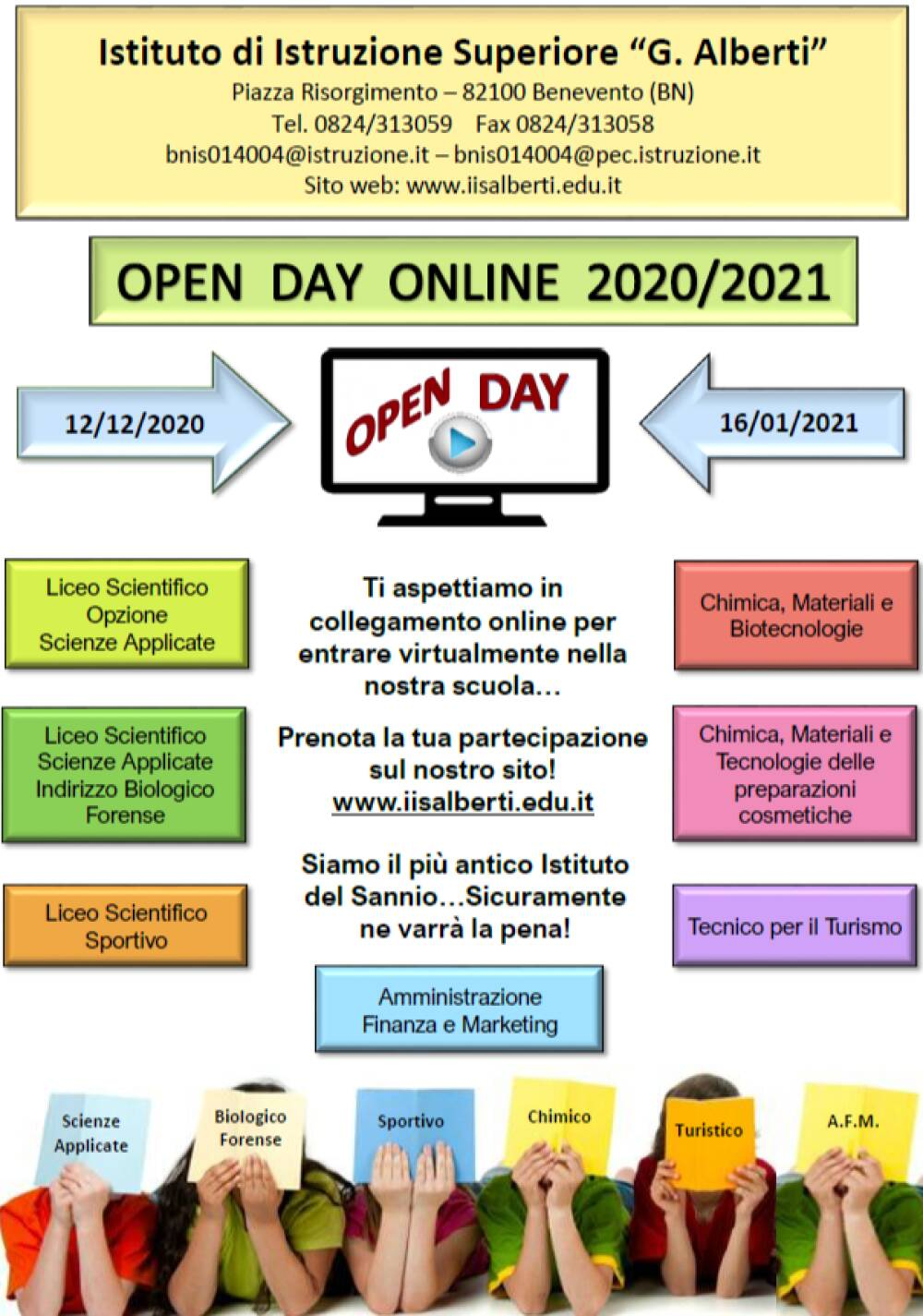 Manifesto Openday 2020