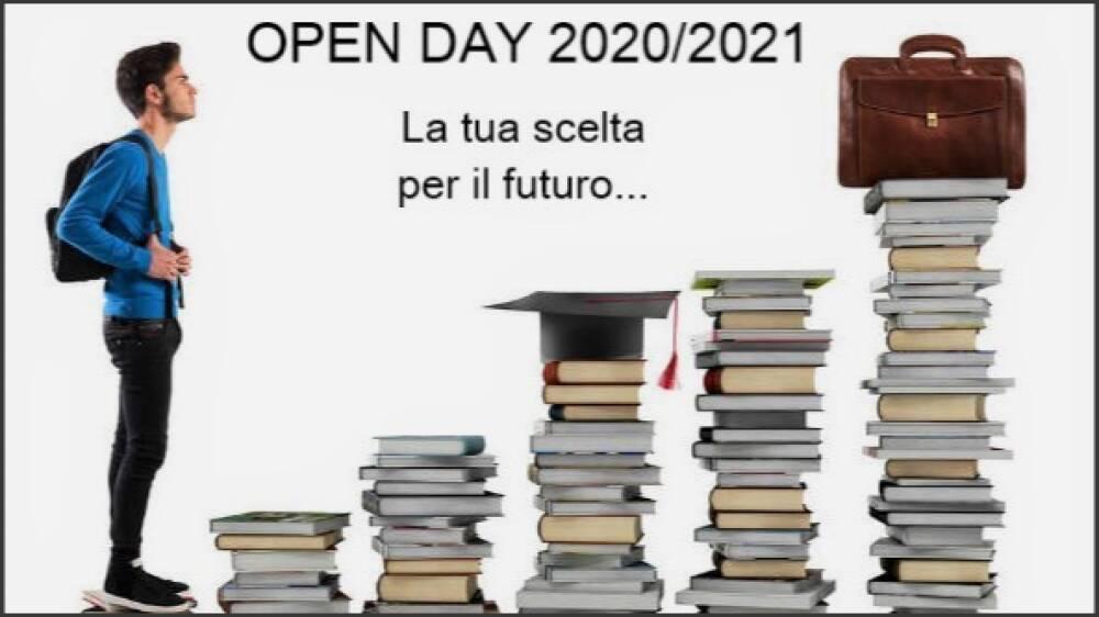 E' tempo di...Open Day 2020/21