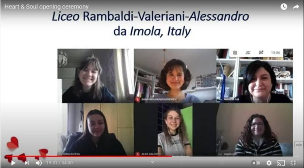 La delegazione italiana