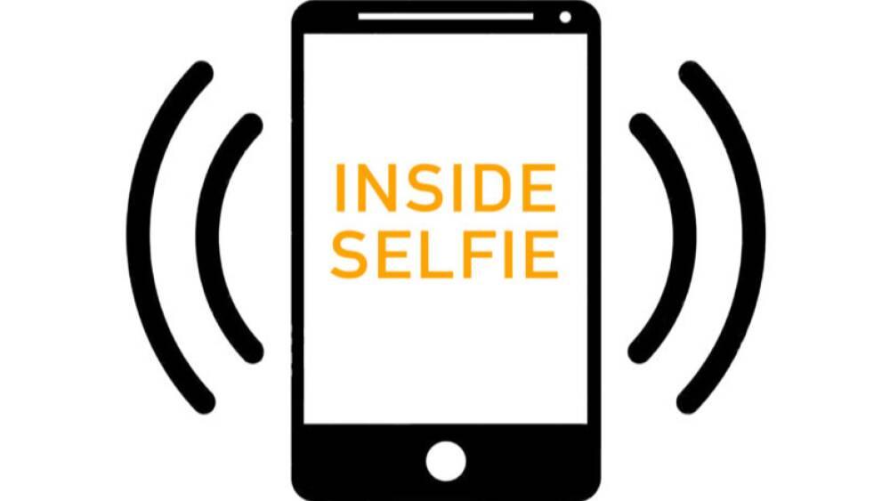 Inside selfie