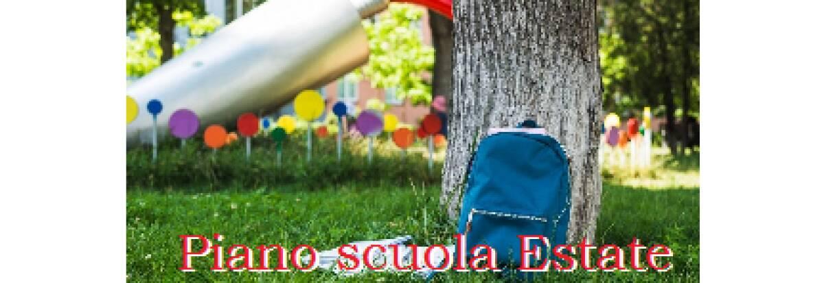 Piano scuola estate