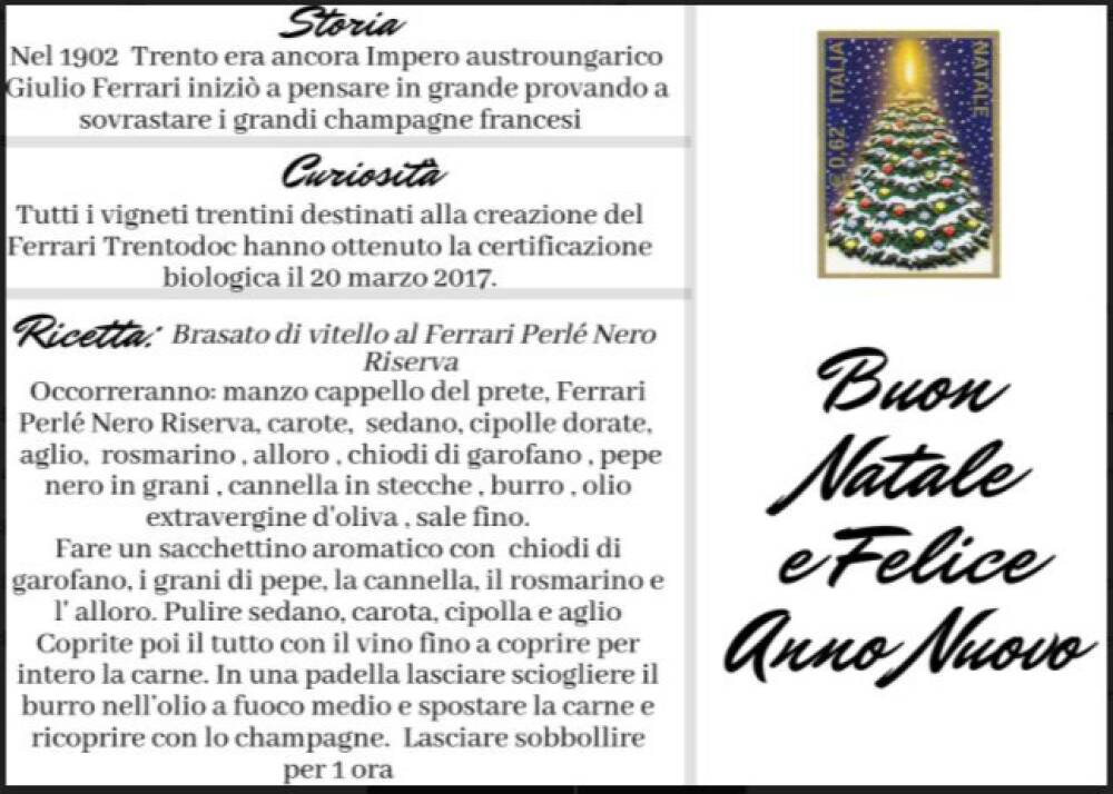 Cartolina Ferrari di Angela Loparco