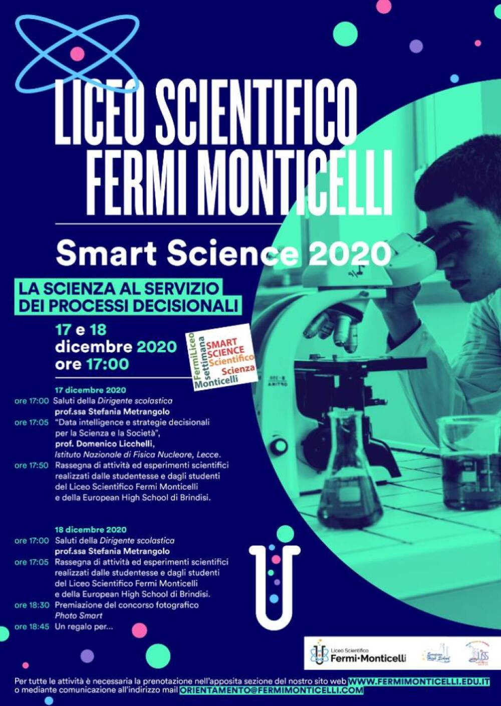 Smart Science 2020 locandina