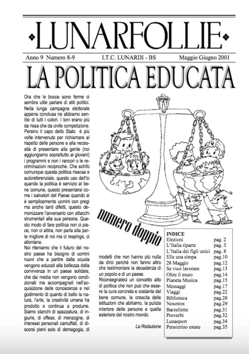 Lunarfollie Maggio-Giugno 2001