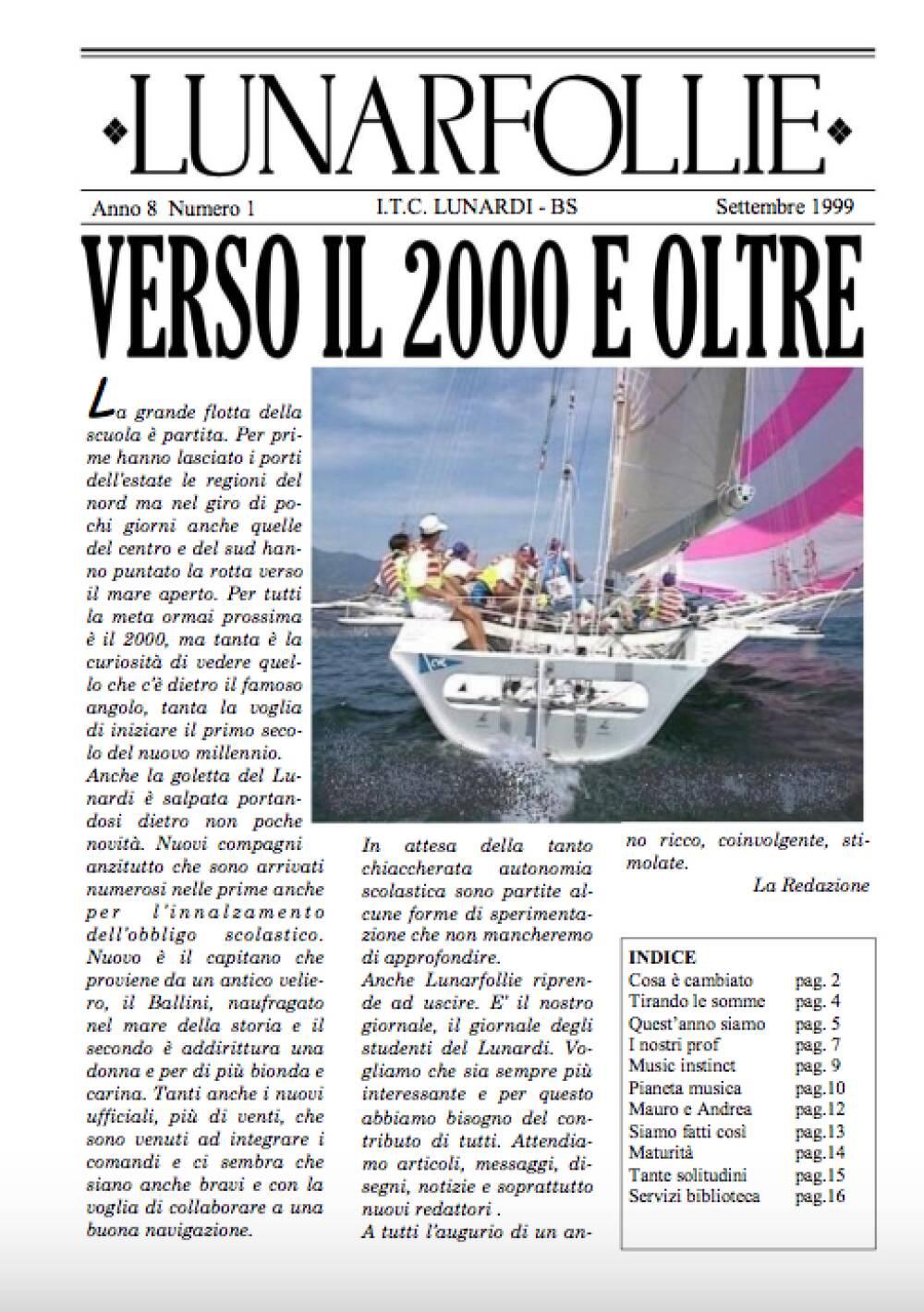 Lunarfollie settembre 1999