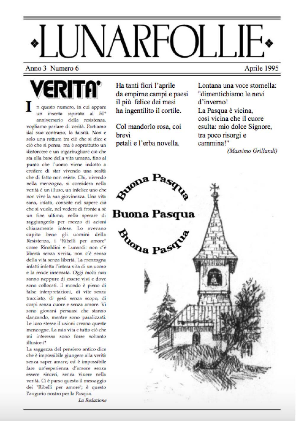 Lunarfollie aprile 1995