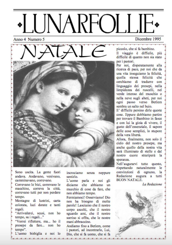Lunarfollie dicembre 1995