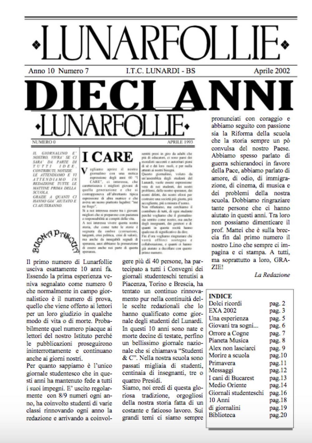 Lunarfollie Aprile 2002
