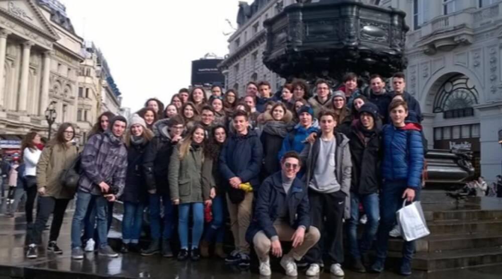 Studenti del Calini a Londra