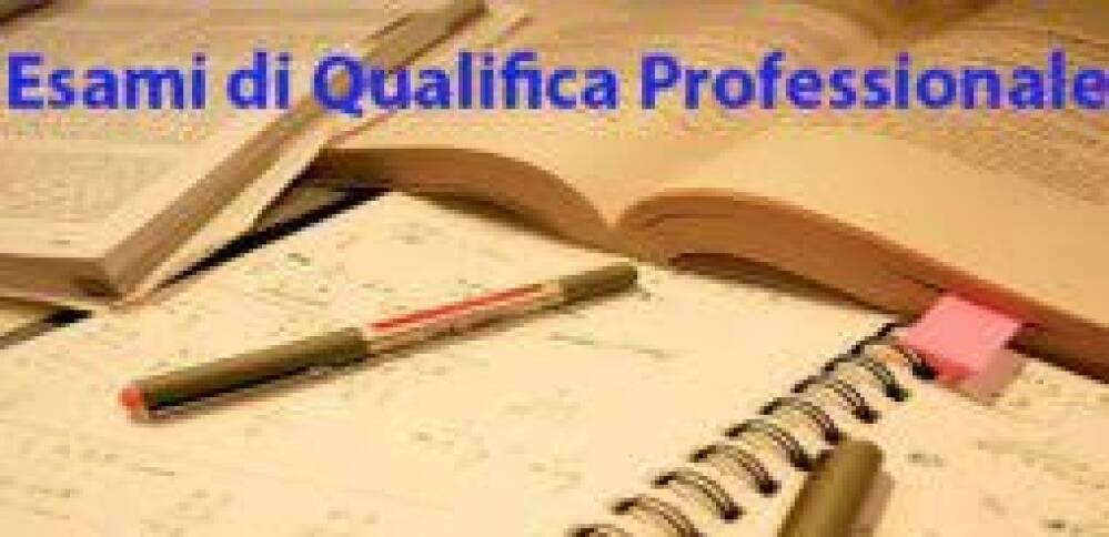 Esami di qualifica professionale