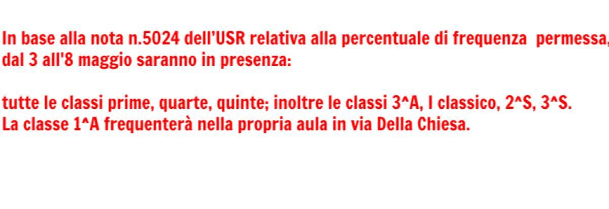didattica 3-8maggio
