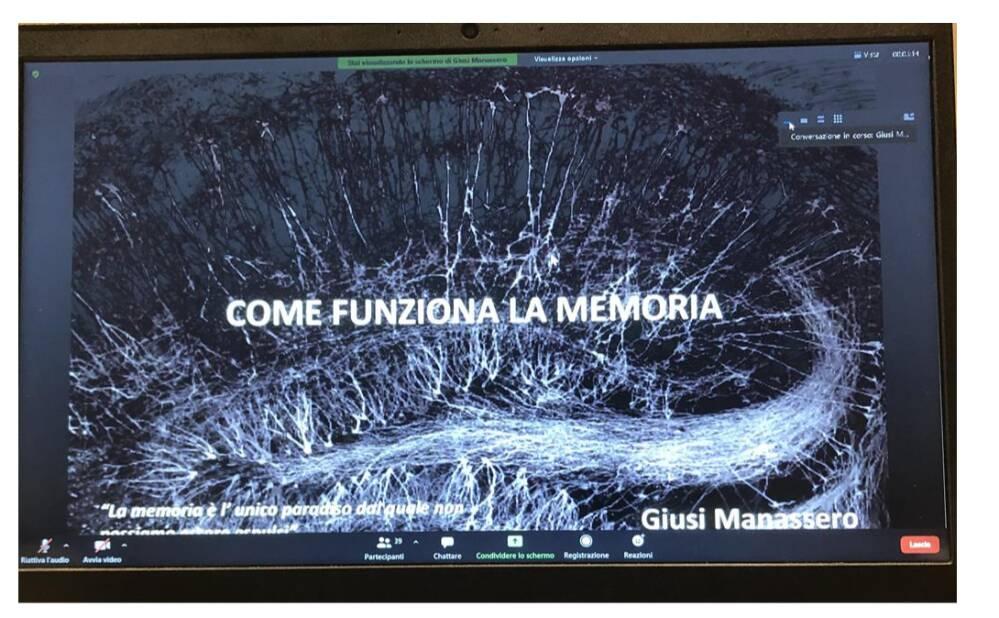conferenza sulla memoria