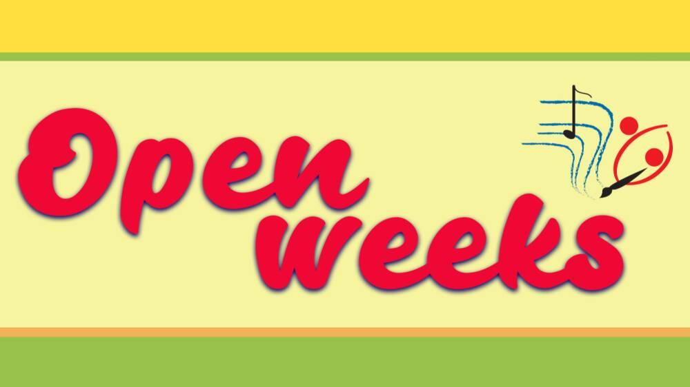 Open weeks copertina