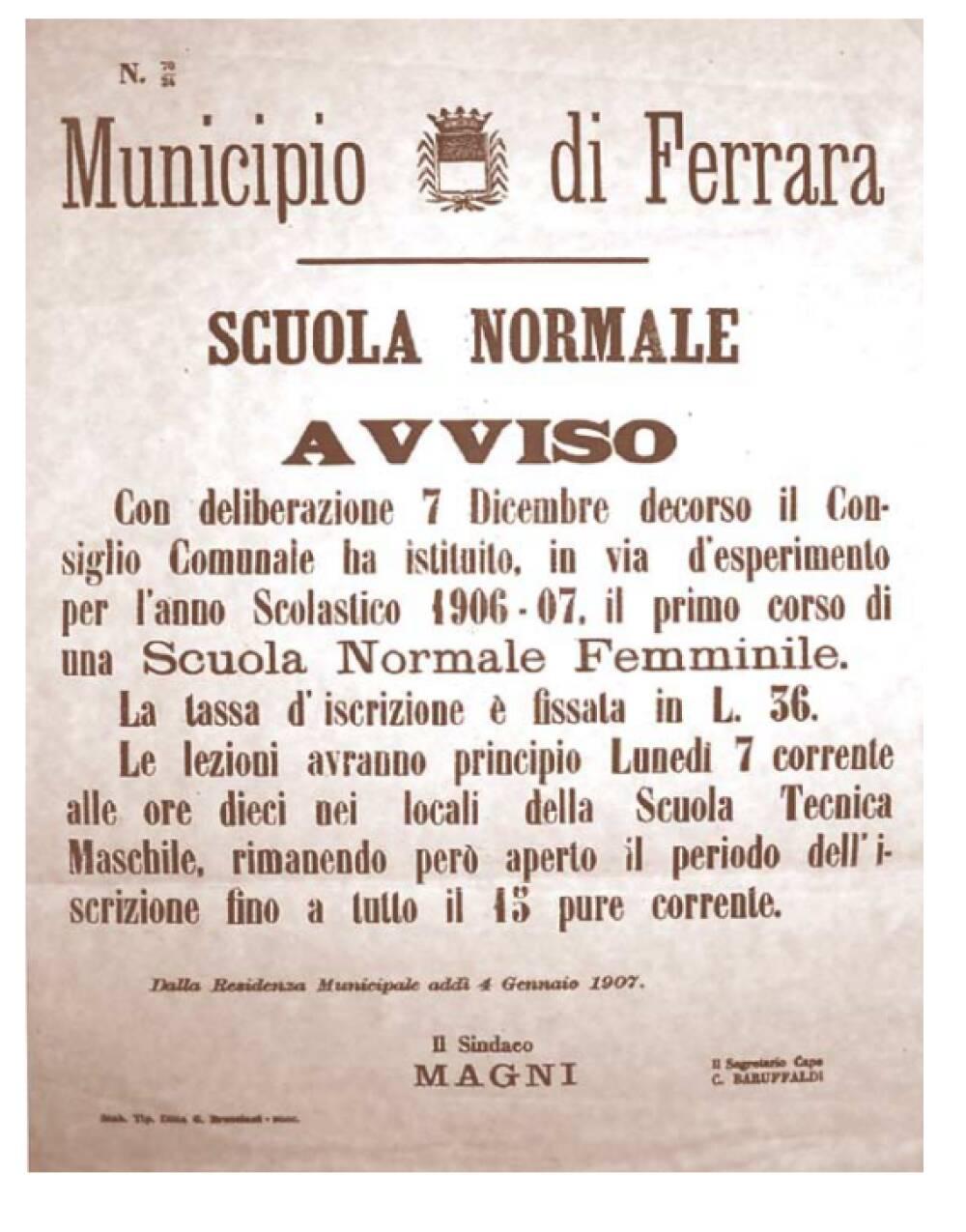 municipio di Ferrara
