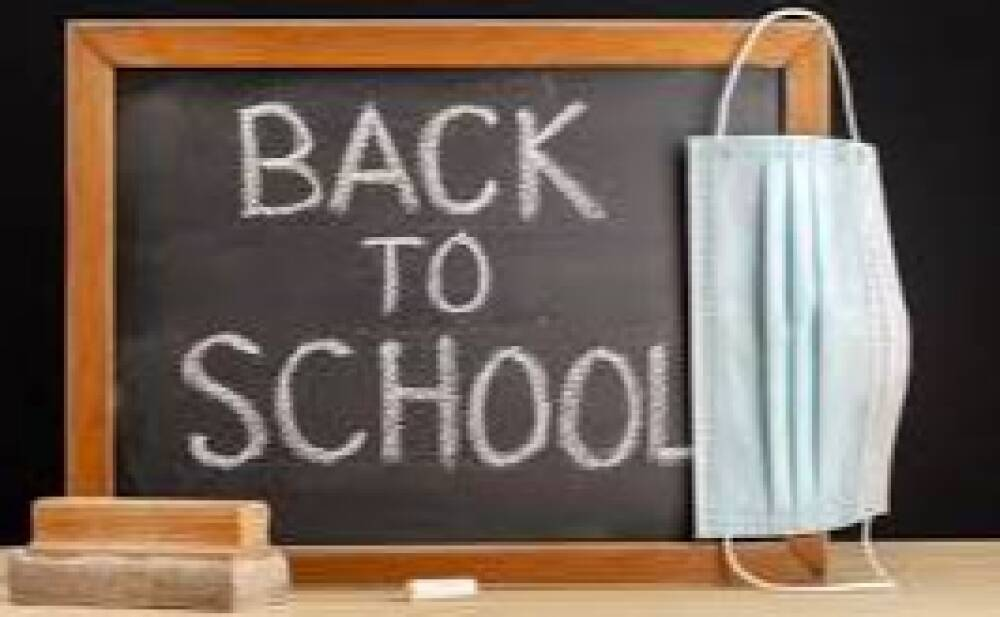 Back to school mascherina