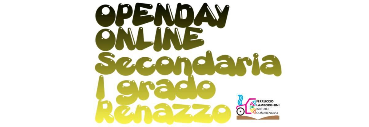 OPENDAY SECONDARIA RENAZZO