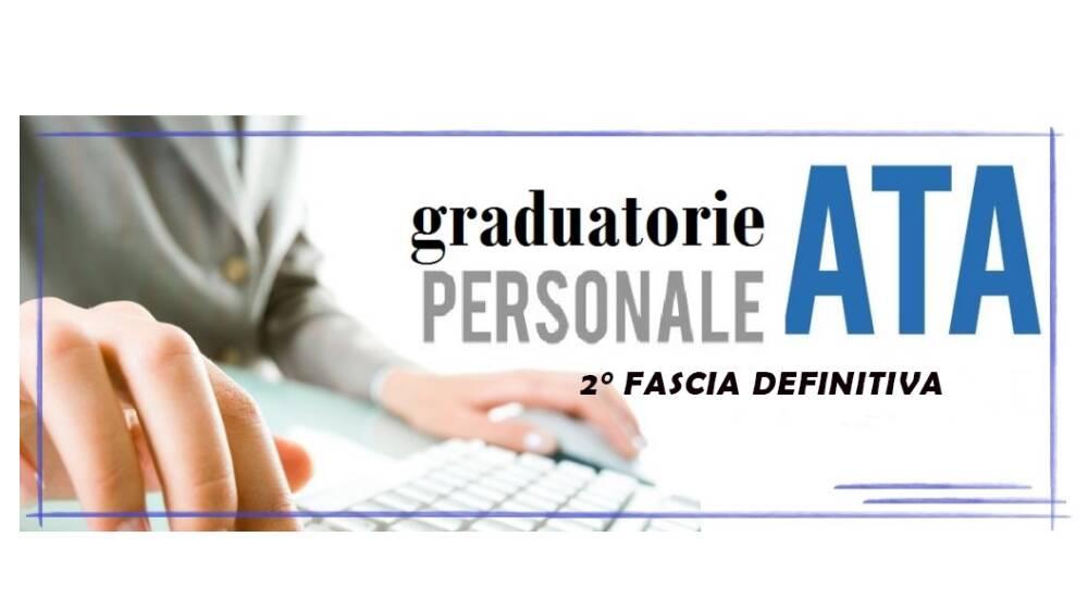 Graduatorie 2 fascia