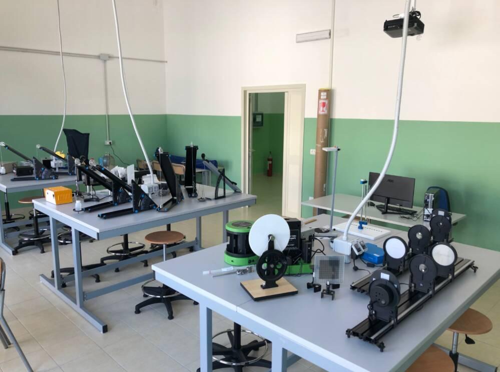 Laboratorio di Fisica Sede Via Sesia