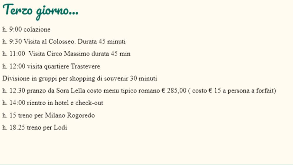 Rome City Pass 12
