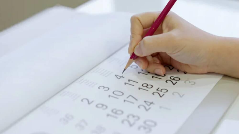 calendario scolastico 2