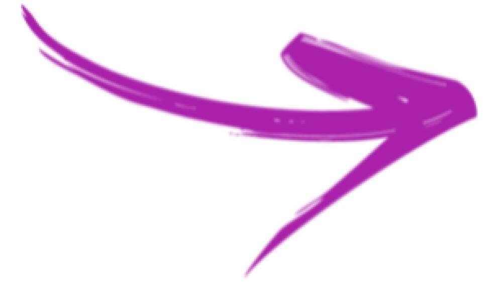 Freccia viola