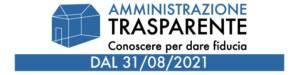 Amministrazione trasparente dal 31/08/2021