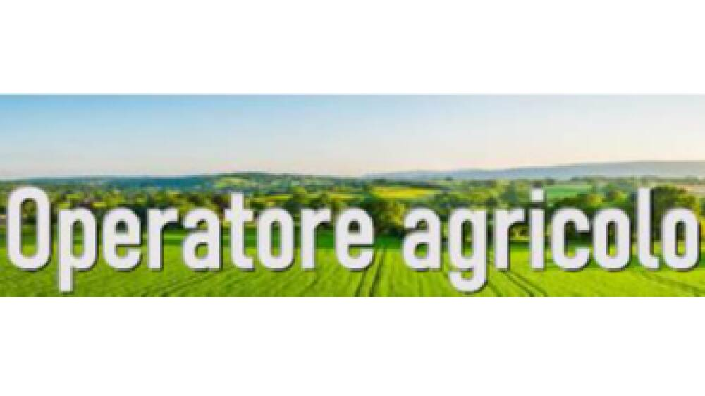 IeFP Operatore Agricolo