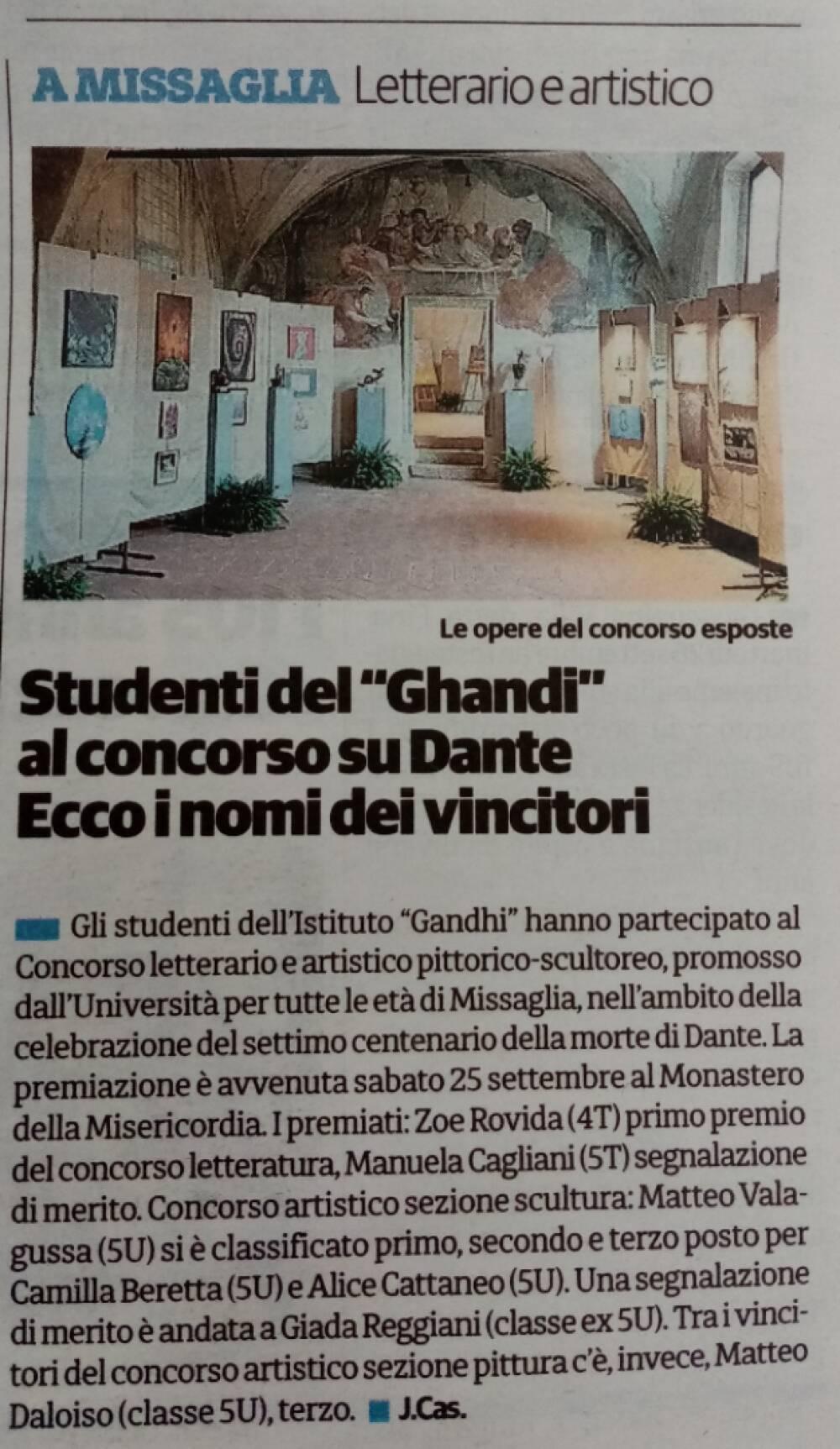 articolo Il Cittadino