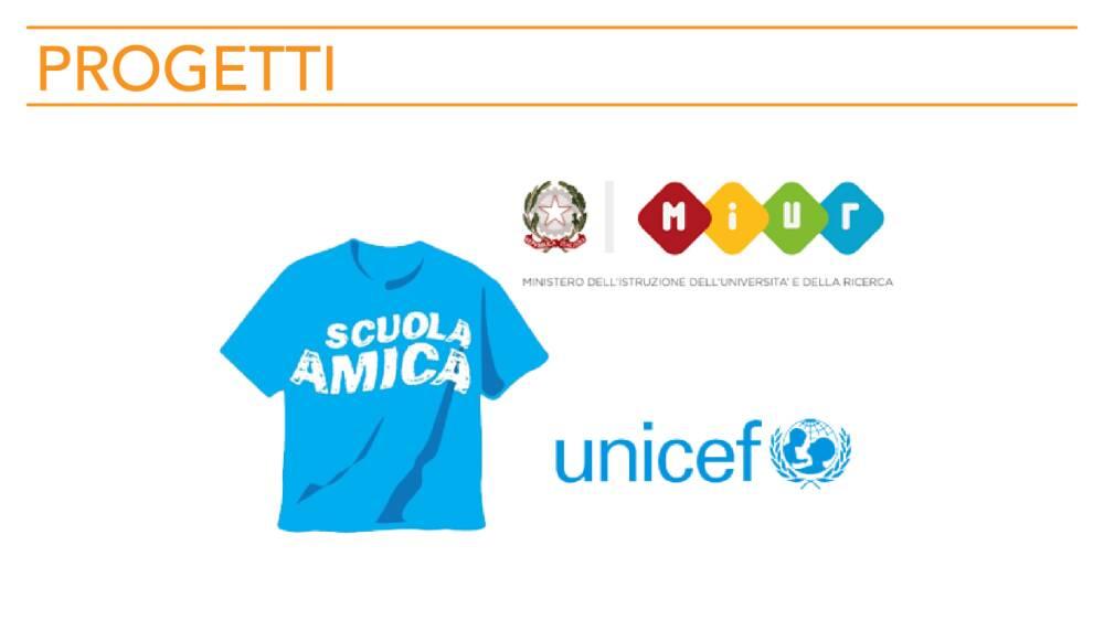 """Immagine di Unicef """"Scuola Amica"""""""