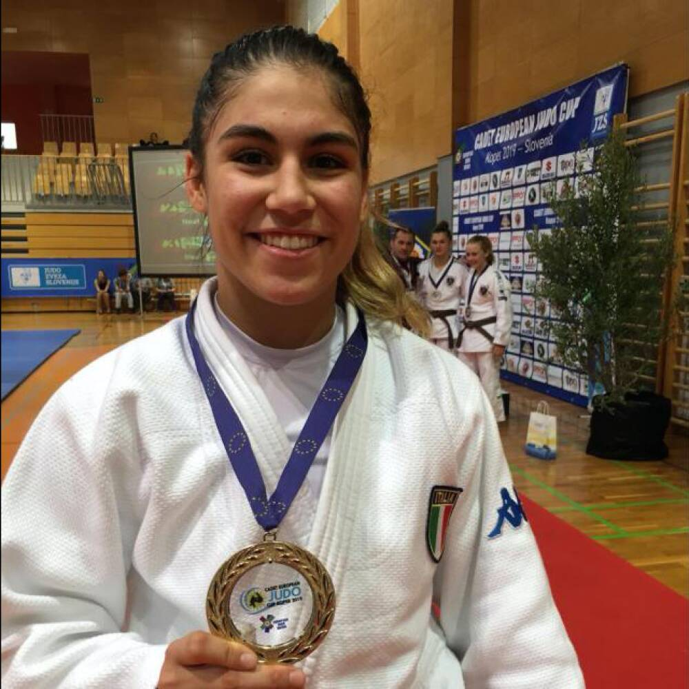 Immagine di Campionessa judo