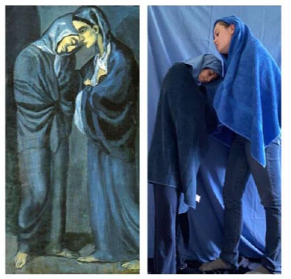 Colangelo Marta e Ginelli Claudia, versus Picasso