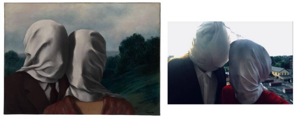 Palomino Britannia versus Magritte