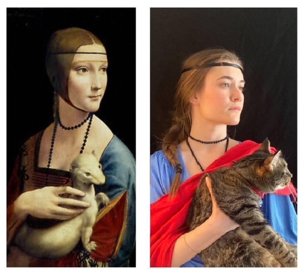 Superbi Angelica versus Leonardo