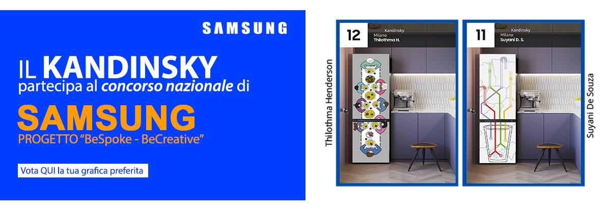 Banner concorso Samsung BeSPoke-BeCreative