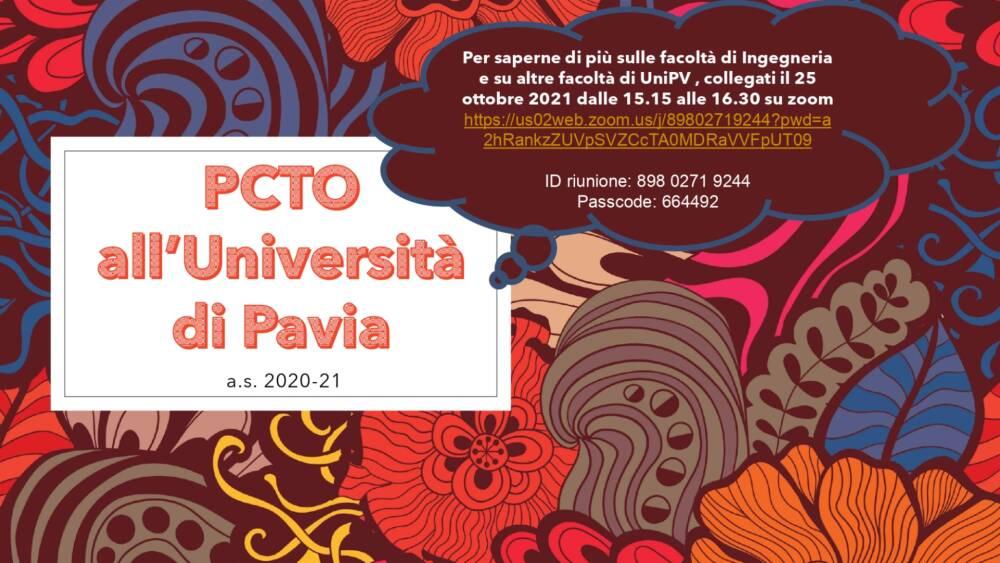 PCTO Pavia