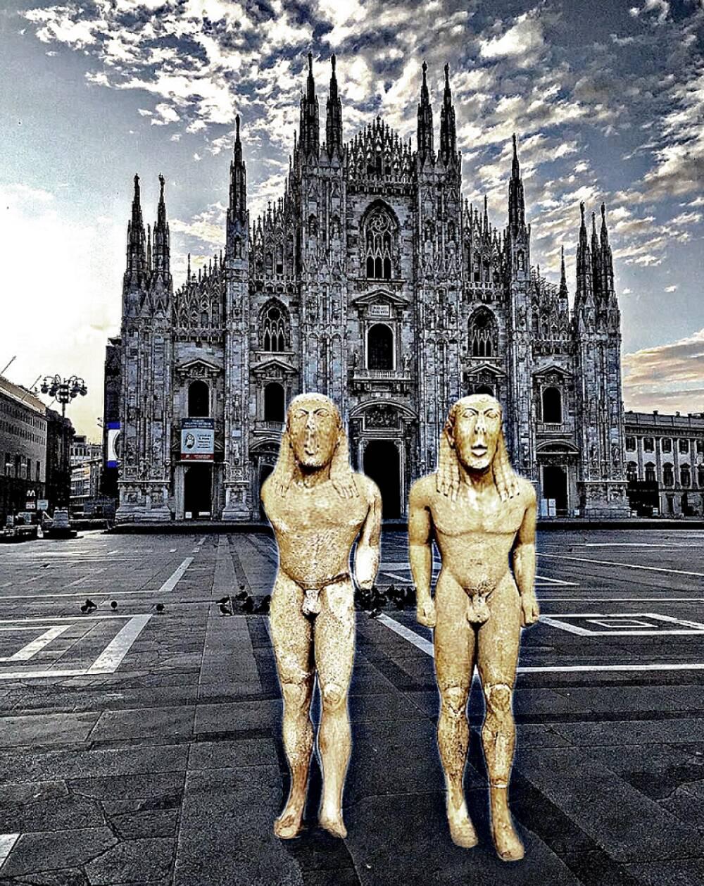 Turisti in Duomo