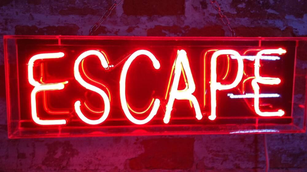Escape room copertina