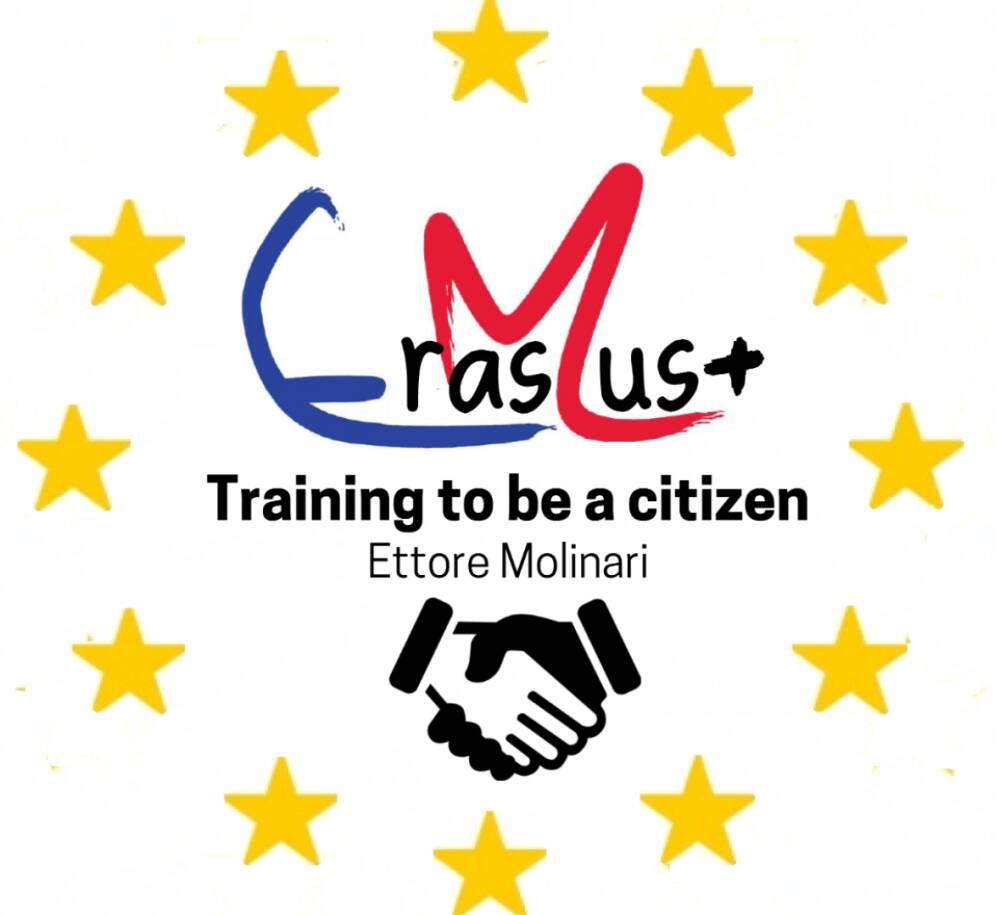 logo erasmus+ Molinari