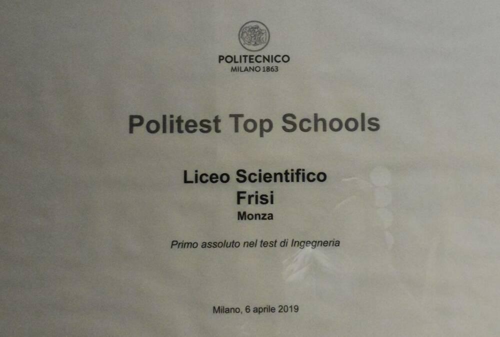 PoliTest Top Schools 2019