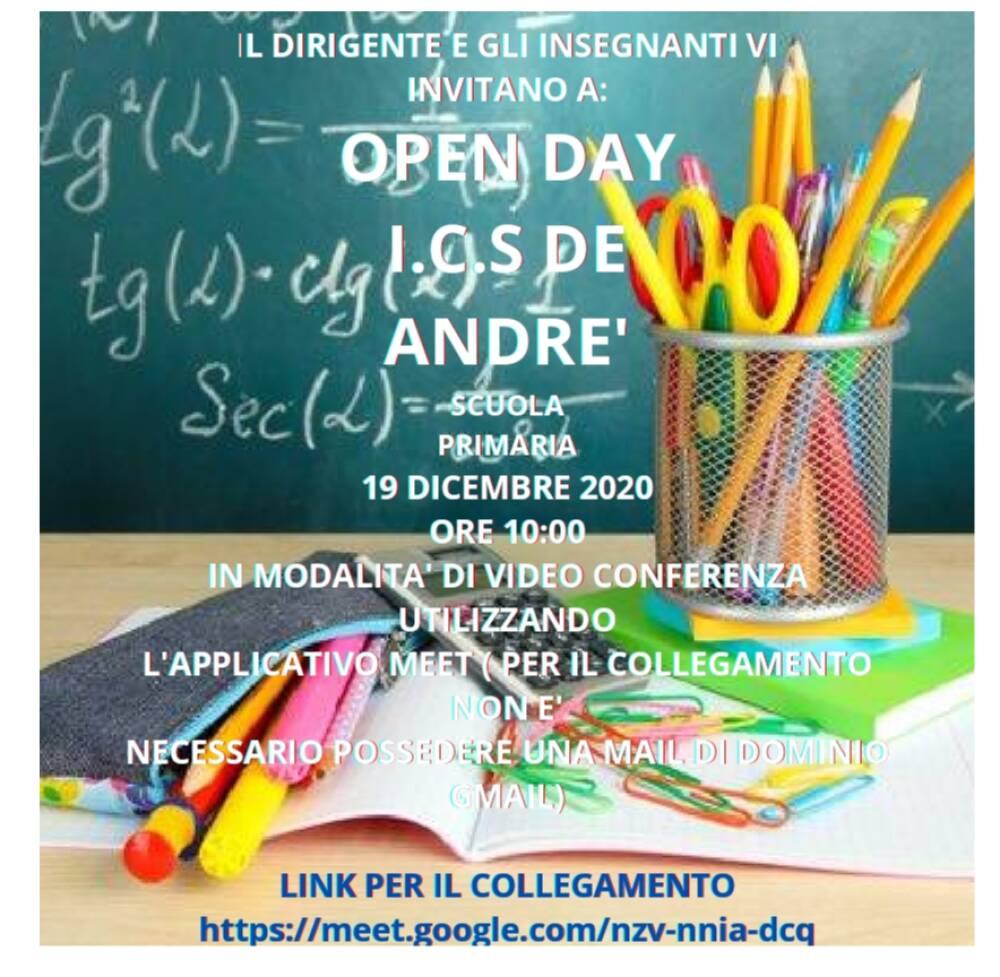 open day primaria