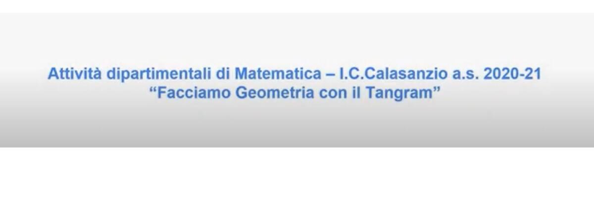 Attività dipartimentale di Matematica a.s. 20-21