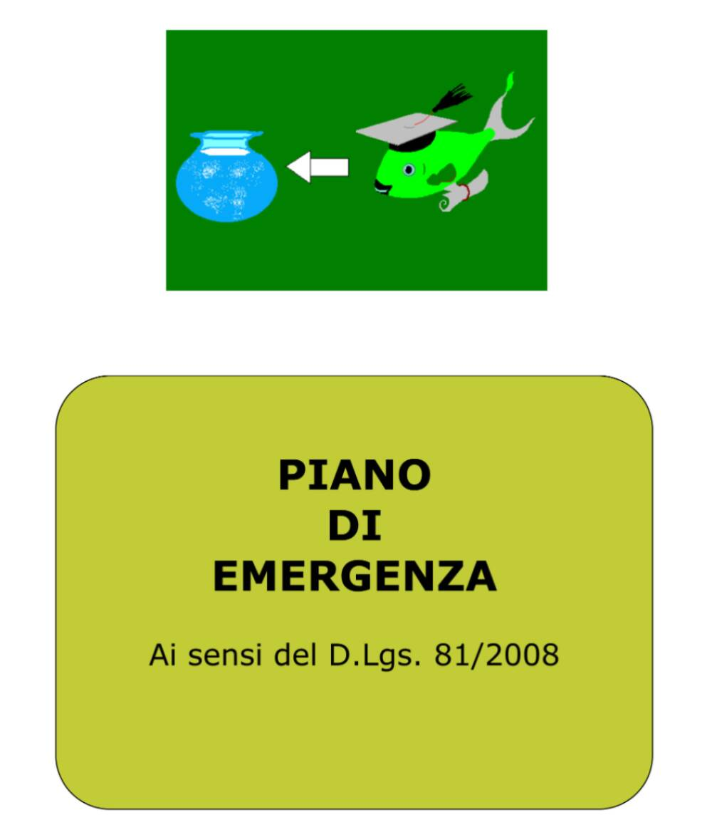 Piano emergenza