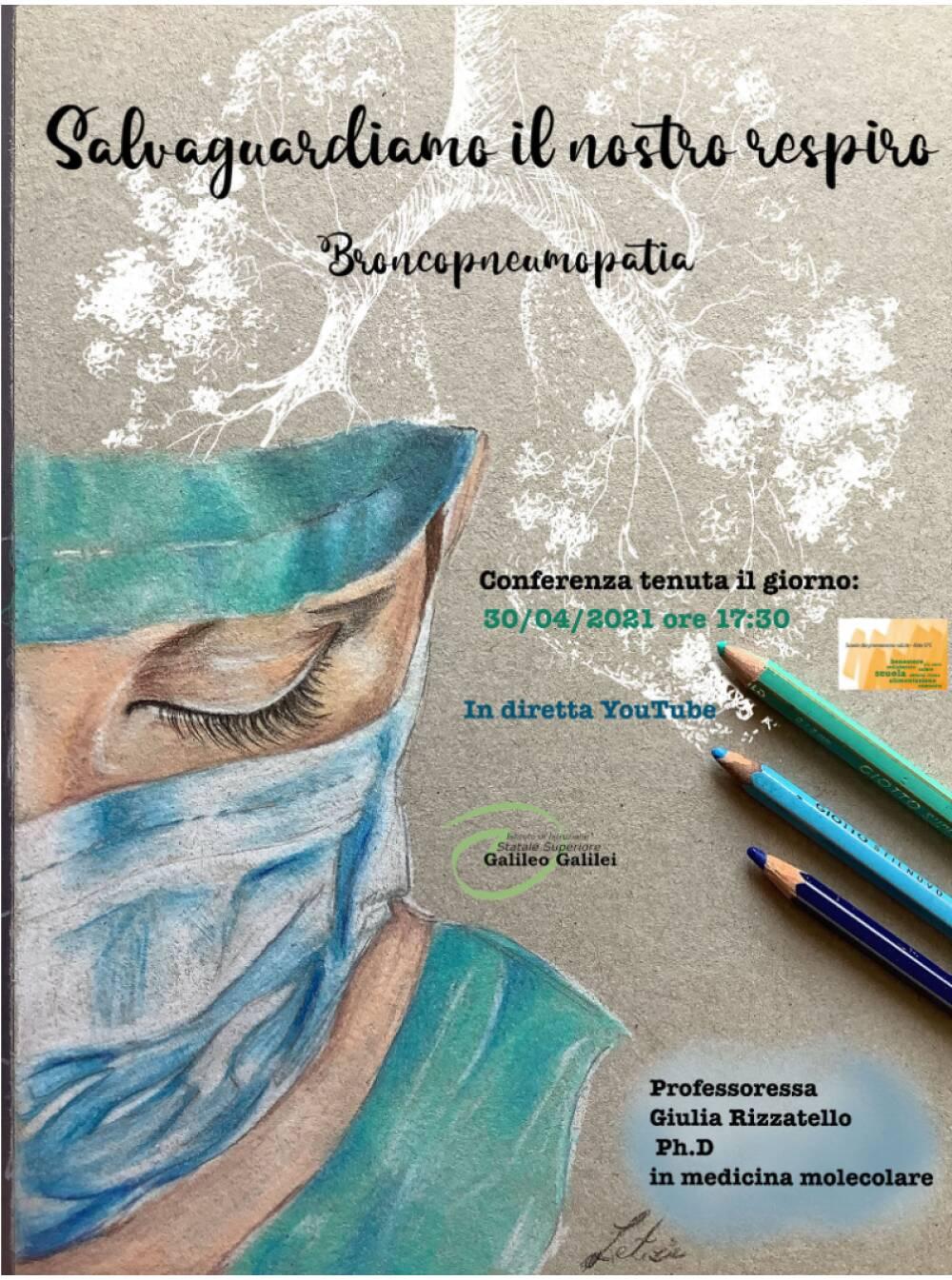locandina broncopneumologia 30 aprile 2021