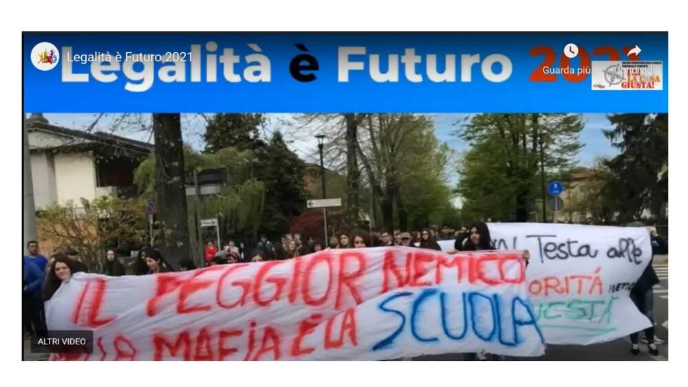 legalità è futuro 2021